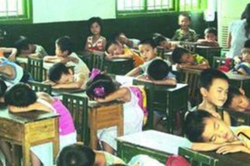 Sebuah Sekolah di China Kenakan Tarif Tidur Siang untuk Siswanya