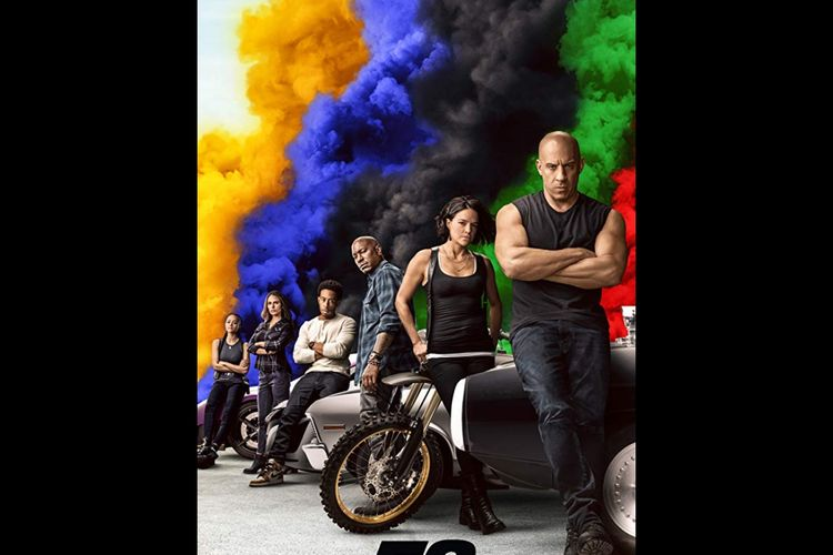 Poster film Fast & Furious 9.