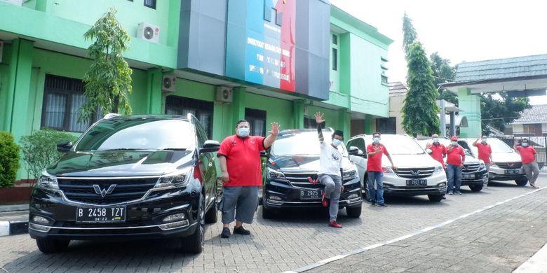 Cortezian Indonesia memberikan sumbangan terhadap masyarakat terdampak Pandemi