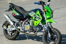 Tren Modifikasi Motor Mini Kawasaki KSR, Banyak yang Utak-atik Mesin