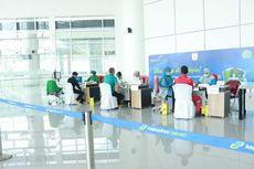 450 Petugas Bandara Syamsuddin Noor Banjarmasin Jalani Vaksinasi Covid-19