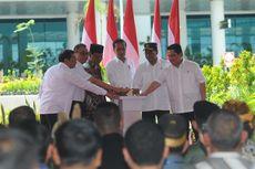 Resmikan Bandara Internasional Syamsuddin Noor, Jokowi: Kaget Saya, Luas Sekali