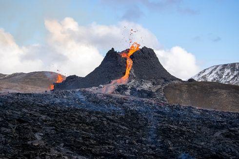Cerita dari Islandia, Melihat dari Dekat Gunung Fagradalsfjall Meletus