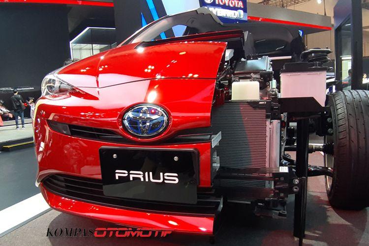 Toyota Prius Hybrid di GIIAS 2019