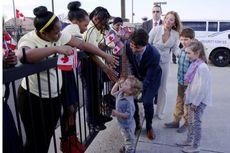 Imut dan Lucu, Putra Perdana Menteri Kanada Bertemu Barack Obama