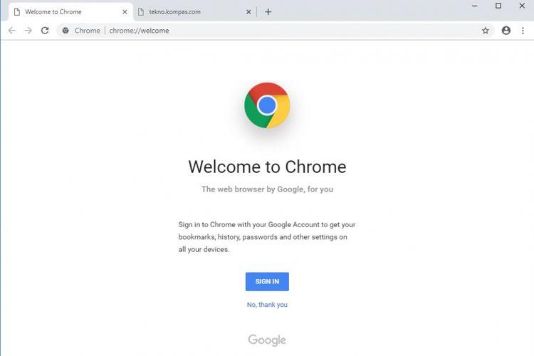 Tampilan baru Google Chrome bakal lebih dinamis.