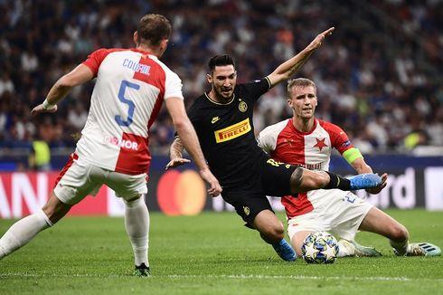 Inter Milan Vs Slavia Praha, Gol Injury Time Selamatkan Pasukan Conte