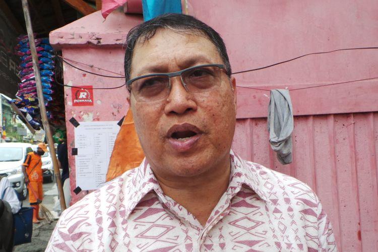 Direktur Jenderal Penanganan Fakir Miskin (Dirjen PFM) Kementerian Sosial Andi ZA Dulung