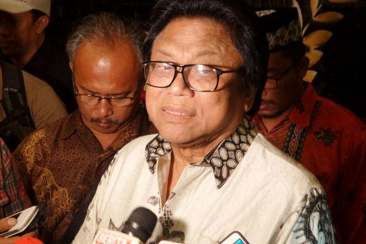 Ketua DPD RI Oesman Sapta Odang saat ditemui di Balai Sarbini, Jakarta Selatan, Selasa (11/4/2017).