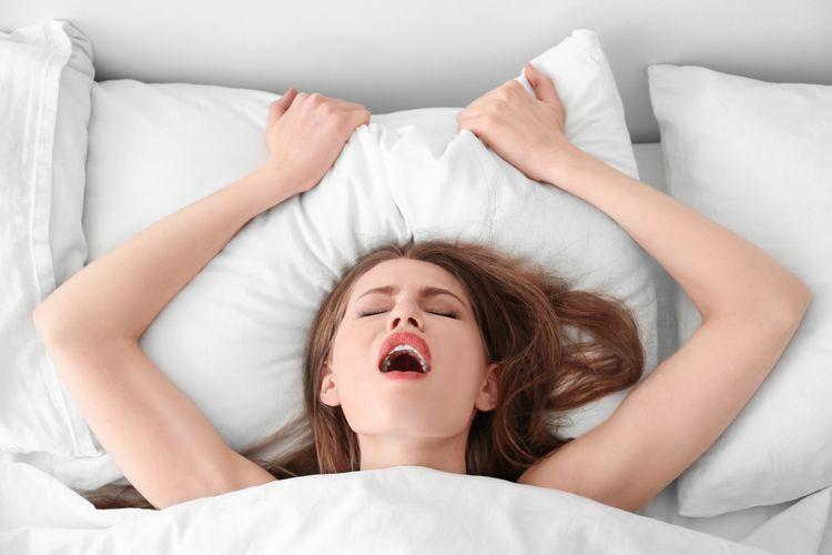Ilustrasi orgasme wanita