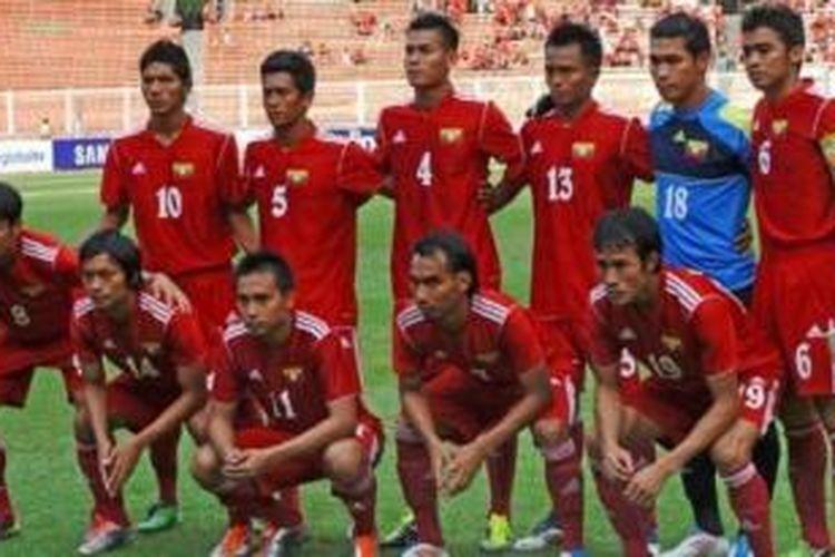 Tim nasional Myanmar U-19.
