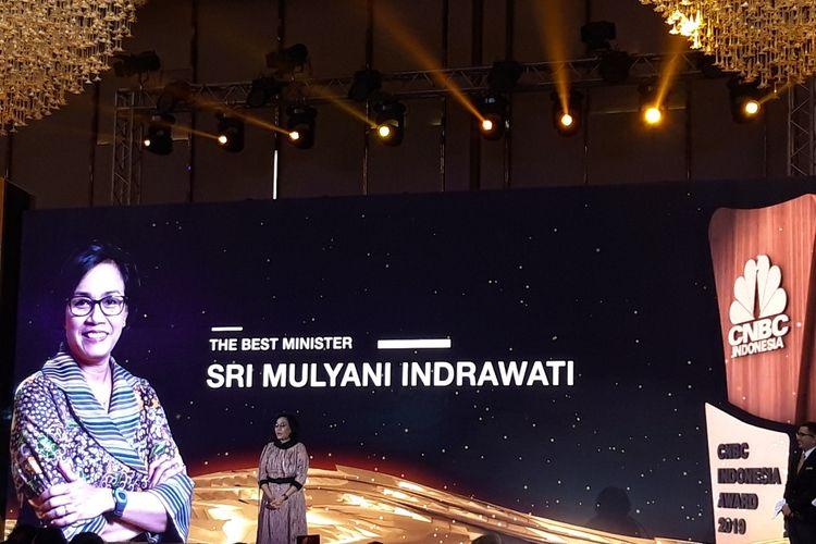 Menteri Keuangan Sri Mulyani Indrawati di Jakarta, Rabu (5/12/2019).