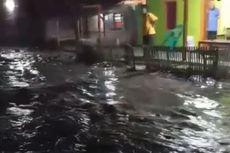 Banjir Rob di Pesisir Cipatujah Tasikmalaya, Air Masuk ke Rumah Warga