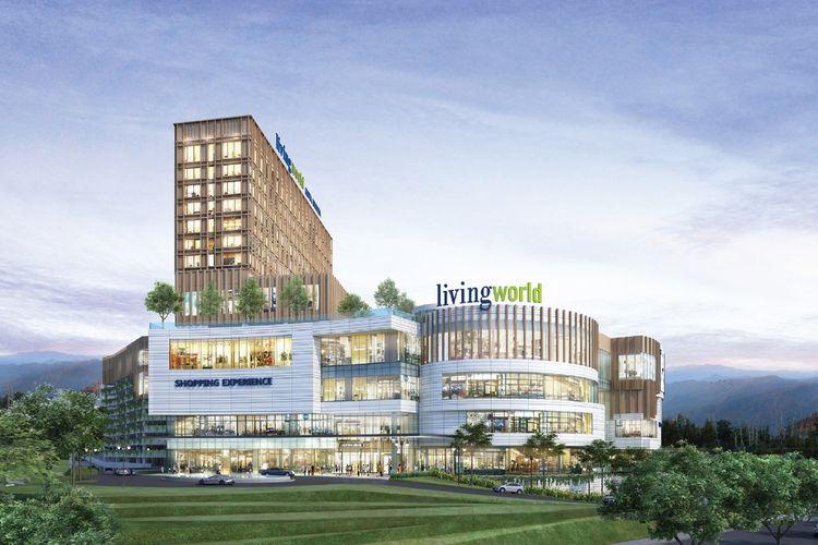 Living World Kota Wisata dijadwalkan beroperasi pada Kuartal I-2023.