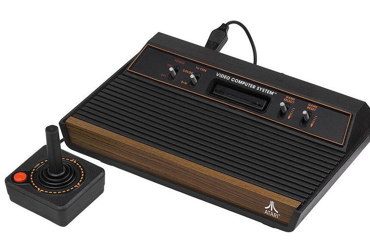 Ilustrasi Atari 2600.