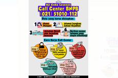 Butuh Bantuan Bencana? BNPB Uji Coba Layanan Call Center 24 Jam, Ini Caranya