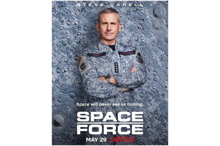 Space Force merupakan serial baru dari Netflix yang tayang mulai Jumat (29/05/2020).
