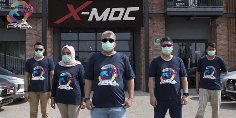 Komunitas Mitsubishi Xpander (X-MOC) rayakan hari jadi ketiga.