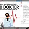 Saat Enam Bulan Pandemi Menelan 100 Nyawa Dokter...
