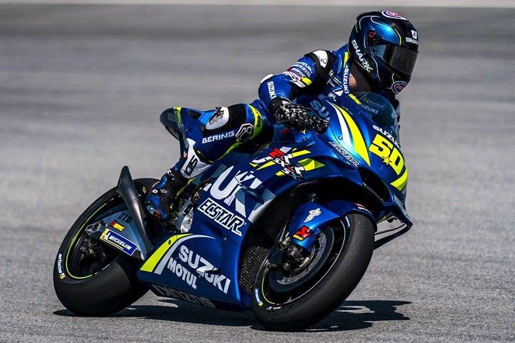 Sylvain Guintoli, test rider Suzuki.