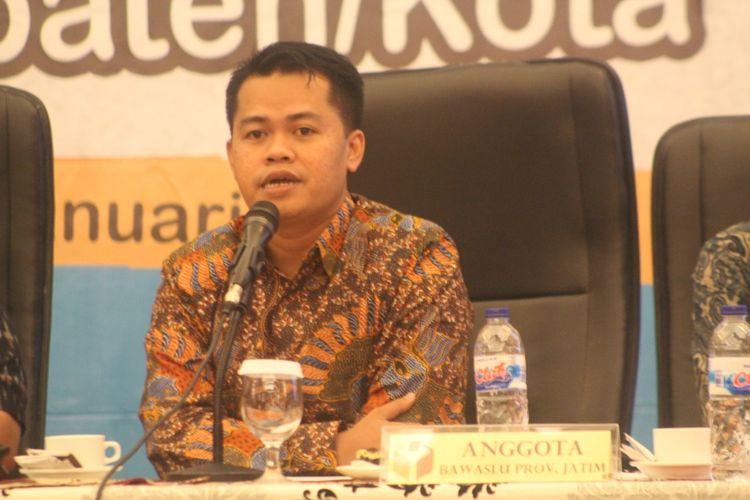Koordinator Divisi Pengawasan Bawaslu Jawa Timur, Aang Kunaifi