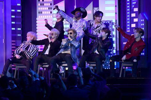 Tampil Kurang dari Semenit, BTS Jadi Musisi Korea Pertama di Panggung Grammy Awards