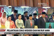 Megawati dan SBY Bersamaan Masuk ke Ruang Pelantikan, tapi Beda Lift