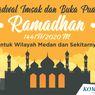 INFOGRAFIK: Jadwal Imsakiyah dan Buka Puasa di Medan Selama Ramadhan 2020