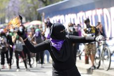 Peringatan Hari Perempuan Internasional Berujung Bentrok, Puluhan Orang Terluka