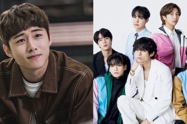 Seo Ji Hoon bakal main di drama Blue Sky yang mengambil kisah BTS di awal kariernya
