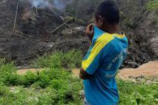 Di Balik Fenomena Api Muncul dari Tanah, Potensi Gas Beracun, Warga Diminta Menghindar