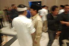 Ketika Prabowo Peluk Deddy-Dedi sebelum Debat Pilkada Jabar