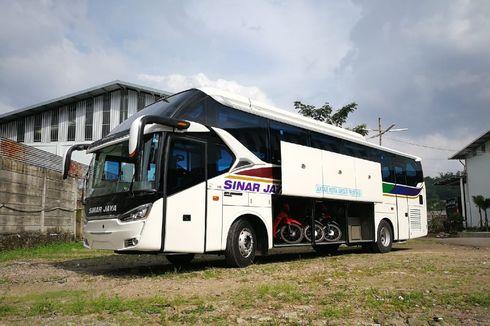 Mengenal Bodi Bus Legacy SR2 Transporter, Bisa Angkut Motor