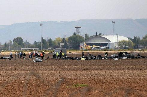 Kegagalan Mesin Diduga Sebabkan Jatuhnya F-18 Hornet AU Spanyol