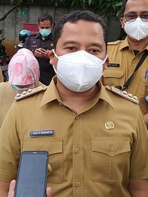 Wali Kota Tangerang Arief R Wismansyah saat ditemui di RSUD Kota Tangerang, Selasa (12/1/2021) siang.