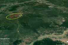 Asteroid yang Jatuh di Gunung Berapi Asia Tenggara