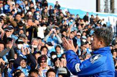 Tampil pada Usia 53 Tahun, Kizuyoshi Miura Bikin Rekor sebagai Pemain Tertua