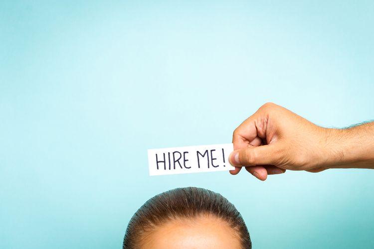 Ilustrasi pencari kerja, job seeker, pengangguran