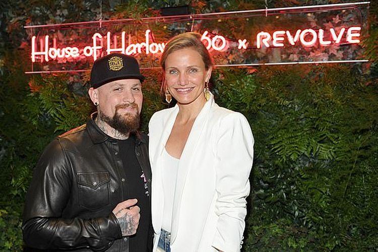 Cameron Diaz dan suaminya rocker Good Charlotte, Benji Madden.