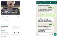 Viral WhatsApp Adu Domba TNI-Polri, Polisi Pastikan Hoaks
