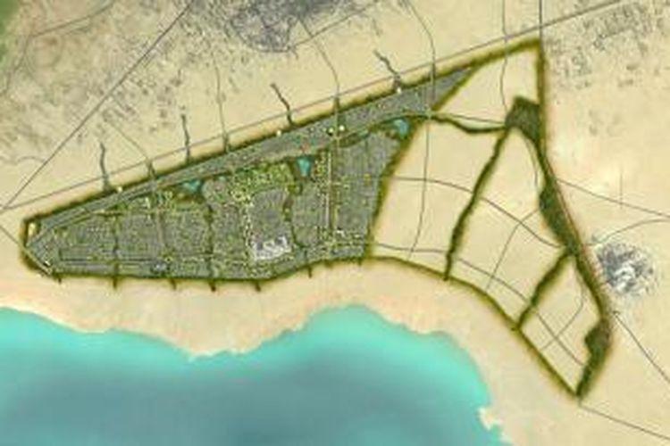 Kota baru Karbala, Irak.