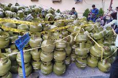 Polisi Sita 3.547 Tabung Gas Melon Kosong Tanpa SNI