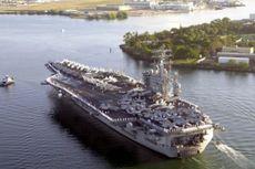 Militer Iran Siaga Tinggi, Kapal Induk AS Ditarik dari Timur Tengah