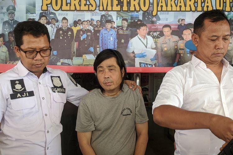 press release kasus pembekapan dan penodongan oleh ayah kandung terhadap anak kandung di Semper Barat, Cilincing, Jakarta Utara.