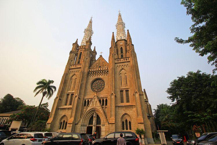 Ilustrasi Gereja Katedral Jakarta.