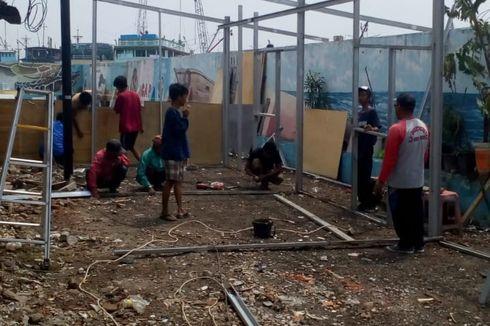 Ada Proyek Pembangunan, Shelter Warga di Kampung Akuarium Dipindahkan