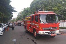 20 Unit Mobil Pemadam Kebakaran Dikerahkan Tangani Kebakaran di Palmerah