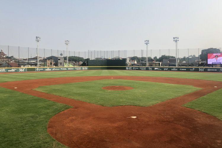 Salah satu venue Asian Games yaitu Jakarta International Baseball Arena di Rawamangun diresmikan Gubernur DKI Jakarta Anies Baswedan pada Senin (13/8/2018).