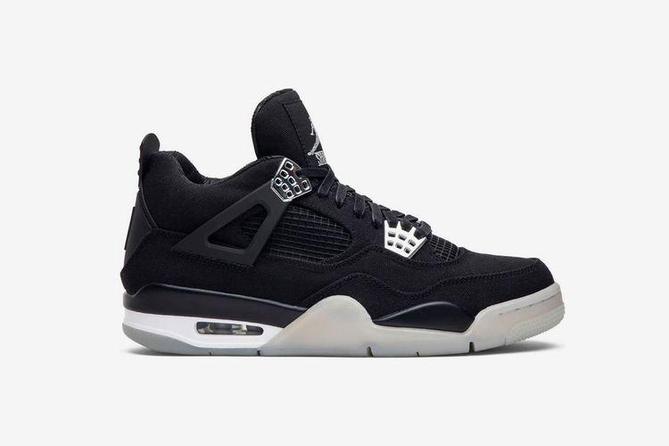 Air Jordan 4 Black Chrome