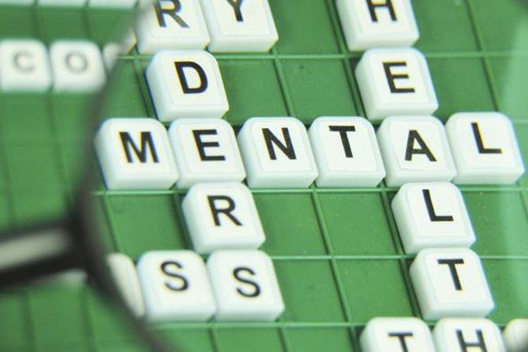 Ilustrasi kesehatan jiwa atau kesehatan mental.